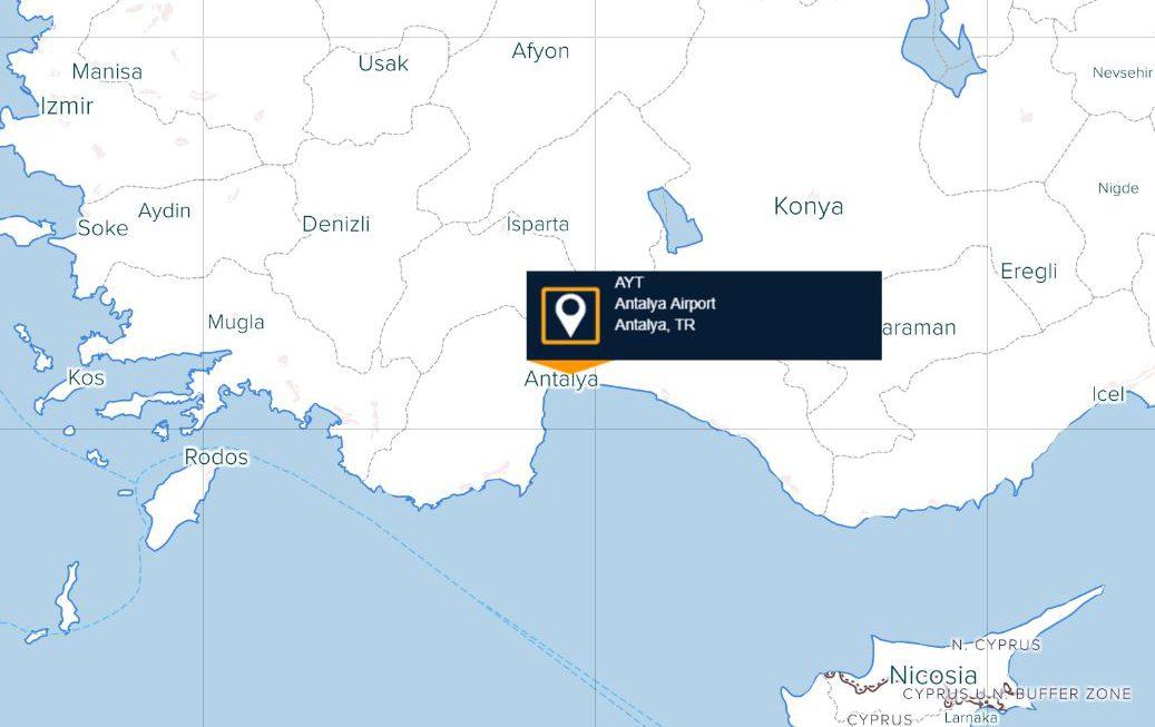 Antalya Havaalanı Uçuşları Listesi