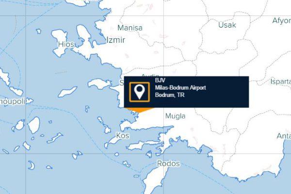 Bodrum Havaalanı Uçuşları Listesi