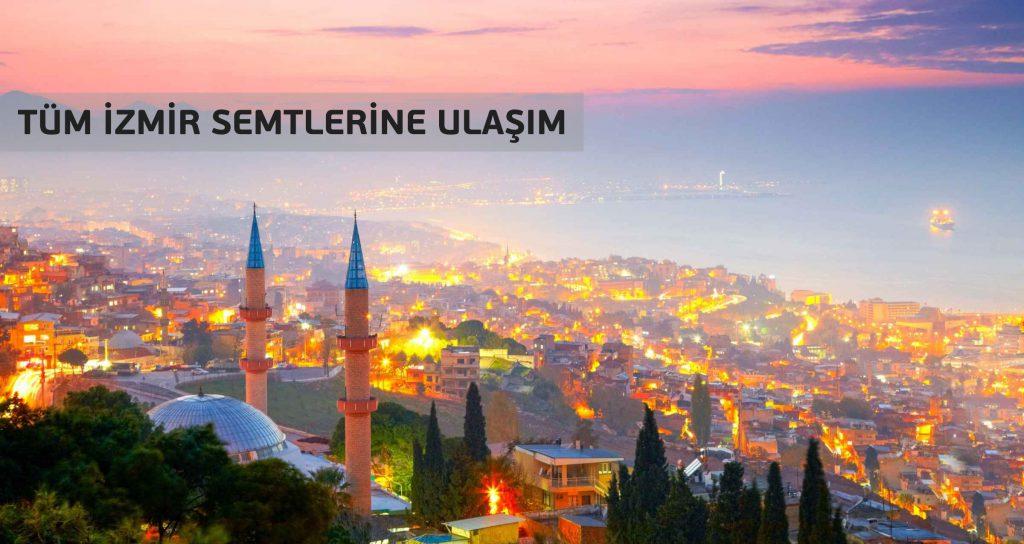 İzmir Havaalanı'ndan Tüm izmir'e Ulaşım