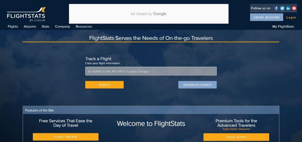 flight stats uçuş izleme