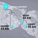 istanbul havaalanına nasıl giderim