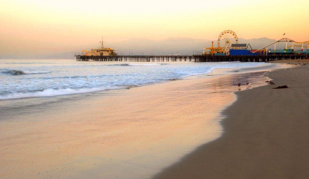 Santa Monica Beach 1