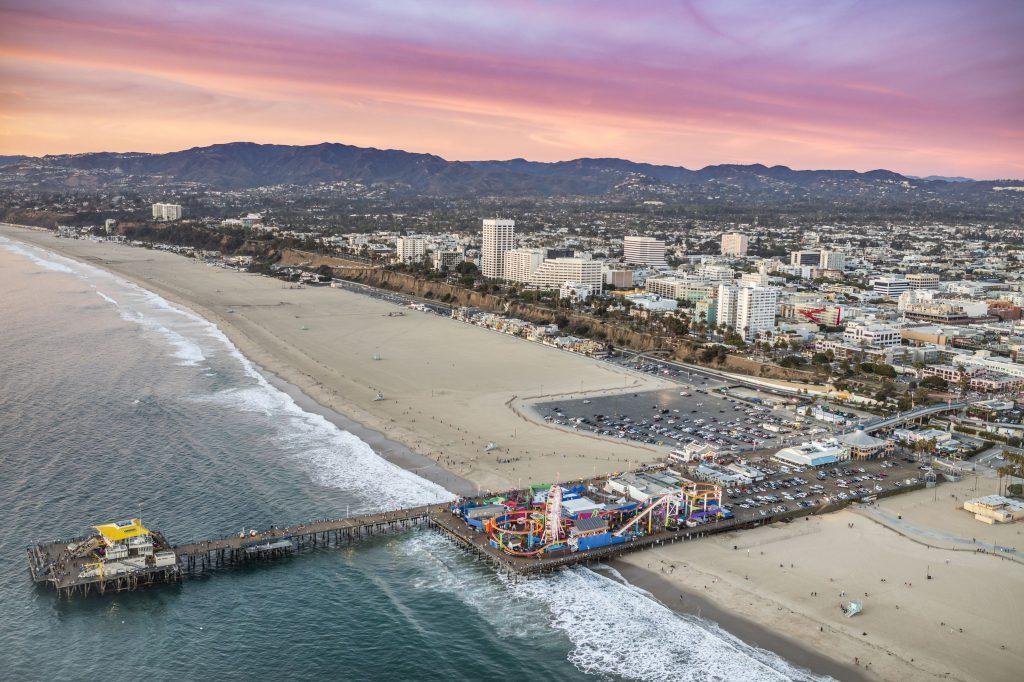 Santa Monica Beach 2