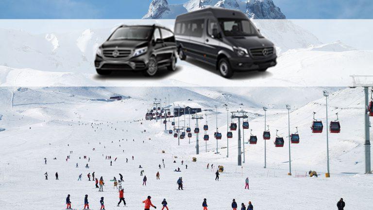 Erciyes kayak merkezine nasıl giderim?