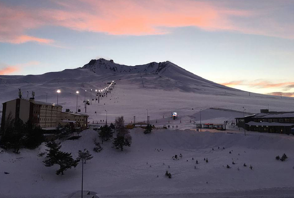 Erciyes Kayak Merkezi Ulaşım