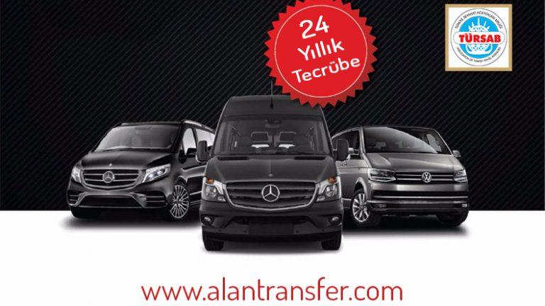 tursab transfer firması özel araç tahsis