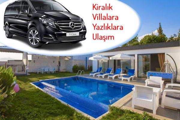 Villa Ulaşım ve Yazlıklara Ulaşım